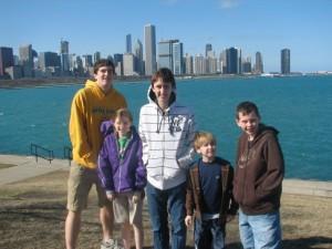 Byrne Kids - Chicago Skyline