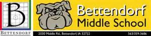 bettendorf middle school logo