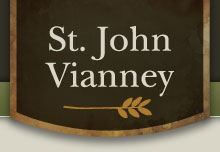 st john vianney catholic church logo